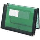 Smead 71951 Green Poly Ultracolor Wallets, Letter - 8.50