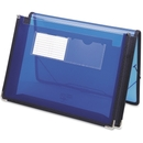 Smead 71953 Blue Poly Ultracolor Wallets, Letter - 8.50