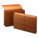 Smead 72375 Leather-Like Partition Wallets with Elastic Cord, Legal - 8.50