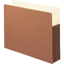 Smead 73264 Redrope File Pockets with Tyvek-Lined Gusset, 9.50