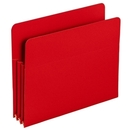 Smead 73501 Red Poly File Pockets, Letter - 8.50