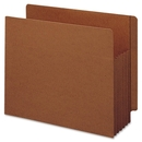 Smead 73790 Redrope Extra Wide End Tab TUFF Pocket File Pockets with Reinforced Tab, Letter - 8.50