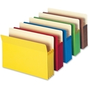 Smead 73892 Assortment Colored File Pockets, 9.50