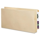 Smead 75124 Manila End Tab File Pockets with Reinforced Tab, Letter - 8.50