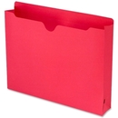 Smead 75569 Red Colored File Jackets, Letter - 8.50
