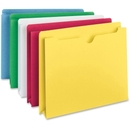 Smead 75688 Assortment Colored File Jackets, Letter - 8.50