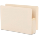 Smead 76124 Manila End Tab File Pockets with Reinforced Tab, Legal - 8.50