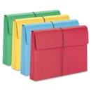 Smead 77271 Assortment Expanding Wallets with Elastic Cord, 10