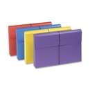Smead 77300 Assortment Colored Expanding Wallets with Antimicrobial Product Protection