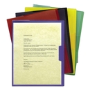Smead 85740 Assortment Poly Opaque Project Jackets, Letter - 8.50