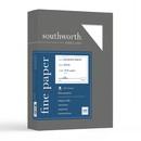 Southworth Diamond White Business Paper, For Laser Print - Letter - 8.50