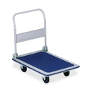 Sparco Folding Platform Truck, Tubular Handle - 330 lb Capacity - 4 x 4