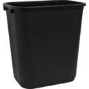 Sparco Rectangular Wastebasket, 7 gal Capacity - Rectangular - 15