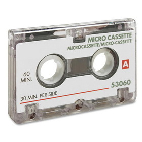 Sparco 60 Minutes Dictating Microcassette, 1 x 60Minute, Price/EA
