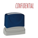 Sparco Pre-Inked Stamp, CONFIDENTIAL Message Stamp - 1.75