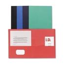 Sparco Double Pocket Portfolio, Letter - 8.50