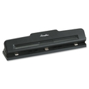 Swingline Desktop Hole Punch, 3 Punch Head(s) - 10 Sheet Capacity - 9/32