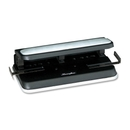Swingline Three-Hole Punch, 3 Punch Head(s) - 32 Sheet Capacity - 9/32