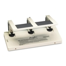 Swingline Manual Hole Punch, 3 Punch Head(s) - 75 Sheet Capacity - 9/32