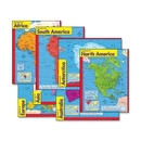 Trend Continents Learning Chart, Learning