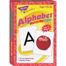 Trend Alphabet Match Me Flash Cards, Trend Alphabet Match Me Flash Cards