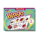 Trend Rhyming Bingo Learning Game, Theme/Subject: Learning - Skill Learning: Vocabulary, Spelling, Rhyming, Word
