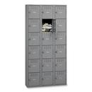 Tennsco Six-Tier Box Locker, - Bolt(s)72