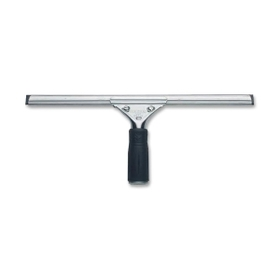 "Unger Pro Stainless Steel Squeegee, Ergonomic Handle - 16"" Head - Rubber, Steel, Price/EA"