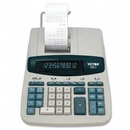 Victor 12603 Commercial Calculator, 12 Character(s) - Fluorescent - AC Supply Powered - 8