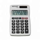 Victor 700 Pocket Calculator, 4 Functions - 8 Character(s) - LCD - Battery/Solar Powered - 0.3