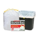 Webster Drawstring Trash Bag, 13 gal - 27
