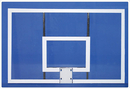 SportsPlay 542-200G Acrylic Rectanglular Backboard with Goal and Net