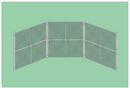 SportsPlay 551-410 Prefabricated Baseball/Softball Backstop