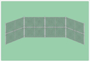 SportsPlay 551-420 Prefabricated Baseball/Softball Backstop