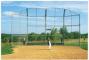 SportsPlay 551-421 Prefabricated Baseball/Softball Backstop