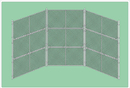 SportsPlay 551-510 Prefabricated Baseball/Softball Backstop