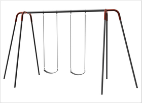 SportsPlay 581-240 Heavy Duty Modern Tripod Swing - 10 foot, 2 seat