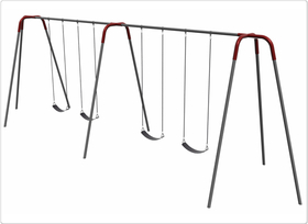 SportsPlay 581-430-8 Modern Tripod Swing - 8 foot, 4 seat