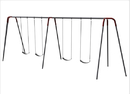 SportsPlay 581-440 Heavy Duty Modern Tripod Swing - 10 foot, 4 seat