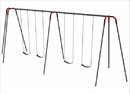 SportsPlay 581-442 Heavy Duty Modern Tripod Swing - 12 foot, 4 seat