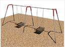 SportsPlay 581-482 2 Bay ADA Platform Swing, 2 WC Platforms