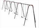 SportsPlay 581-840 Heavy Duty Modern Tripod Swing - 10 foot, 8 seat