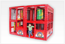 SportsPlay 902-792 Tot Town Contained Play Fire Engine