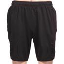 TopTie Boys Black Gym Shorts, Basketball Shorts, 7