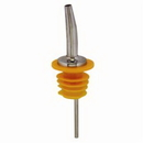 Spill-Stop 285-60 Chrome Tapered Pourer with oversized poly-kork