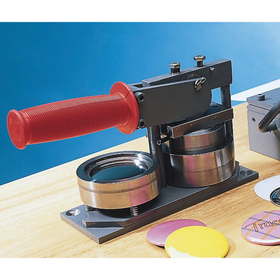 Heavy-Duty Hand-Operated Button Maker, Price/each