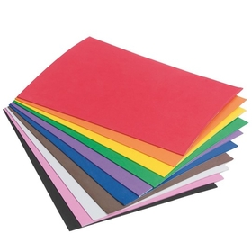Sticky Back Foam Sheets Assorted Colors (pk/10), Price/per pack