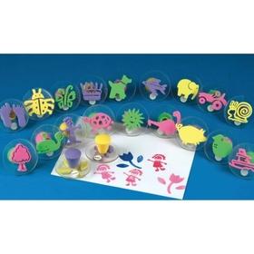 Foam Squishers Foam Stamps (set/20), Price/per set