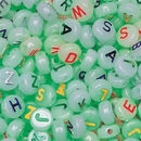 Glow in the Dark Alpha Beads 1/2-lb Bag