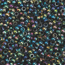 Rainbow Metallic Pony Beads 1/2-lb Bag